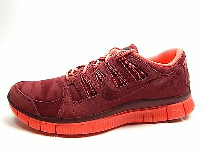NIKE FREE 5.0 Ext Team Red 580530 660 Men Shoes $75.00