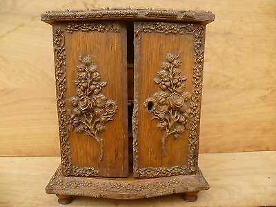 Antique Old Miniature Dressing Chest, Drawer Set, Old Furniture, 'small' (E322)