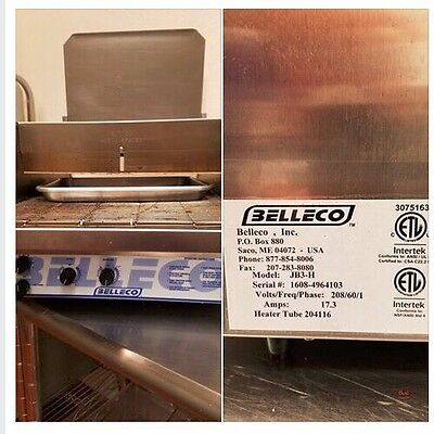 Belleco - JB3-H - 14 1/2 in Countertop Conveyor Oven