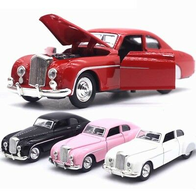 1x New Alloy Diecast 1:32 Bentley 1955 Car Model Toy Vehicle Gift Sound & Light