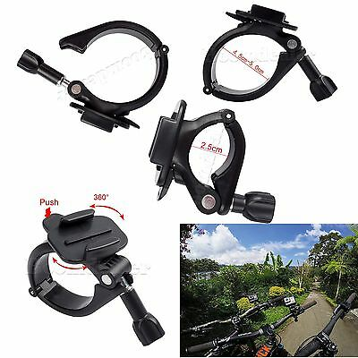 360° Bicycle Motorcycle Handlebar Seatpost Mount Adapter Clamp for GoPro Hero