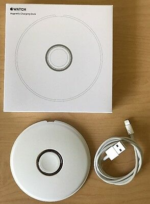 Genuine Apple Watch Magnetic Charging Dock Stand MLDW2AM/A 38mm & 42mm