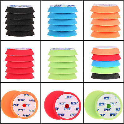 "7""(180mm) Polishing  Pad Buffing Polishing Pad Set For Car Polisher-Select Set"