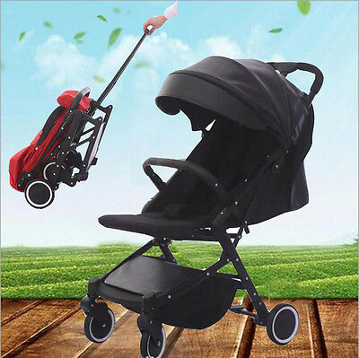 Babytime Compact Lightweight Baby Stroller Pram Jogger Travel Carry-on Pushchair