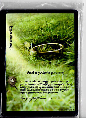 Lord of the Rings LOTR Sealed 17 card Promo deck of Elvish Rare Tengwar Cards