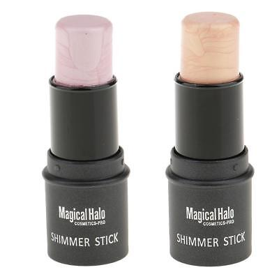 1x Makeup Face Powder Cream Shimmer Highlight Conclear Bronzers Contouring Stick
