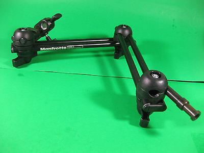 Manfrotto Double Articulated Arm with Camera Bracket -- 396B-2 -- Used