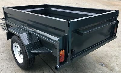 Aussie Made 7X5 Heavy Duty Box Trailers With New Tyres & Rims Brand New!
