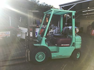 Mitsubishi Forklift 2.5 Ton 4.3M Lift Container Mast $7,999+GST NEGOTIABLE