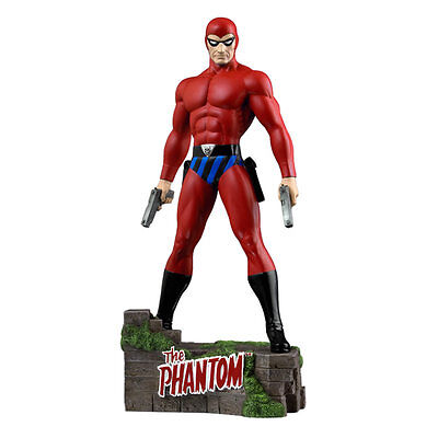 "The Phantom - Ghost Who Walks 12"" Statue - Red Suit Variant"