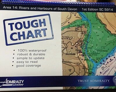 tough chart sc5914 rivers and harbours of south Devon