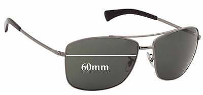 2a336e0fee6 SFX REPLACEMENT SUNGLASS Lenses fits Ray Ban RB3476 - 60mm across ...