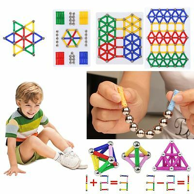 2017 DIY Three Dimensional Magnetic Building Sticks Construction Toy Kids Gift
