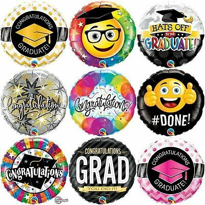 Congratulations Foil Balloons Graduation Party Decorations Graduate Supplies 18""