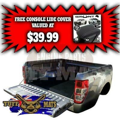 Ford PX 1 & 2 Ranger with Factory Tub Liner - 2012-Current Rubber Ute Tuff Mat