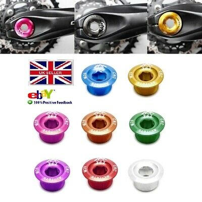 Anodized Arm Fixing Bolt Bike Bicycle Crank Chainset Screw Axis For Shimano P LL