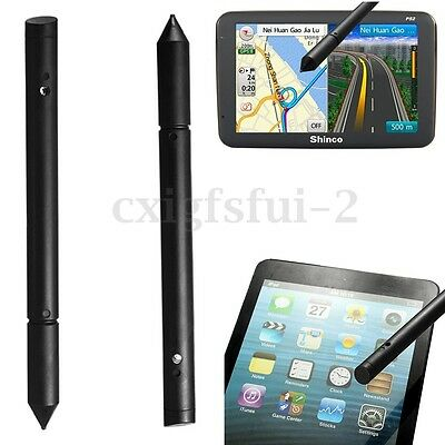 2pcs Universal 2in1 Touch Screen Stylus Pen For iPhone iPad Phone Tablet PC GPS