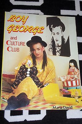 Boy George & CULTURE CLUB by Maria David Coombe Books 1984 VGC Soft Cover