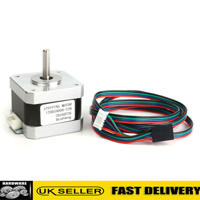 Nema 17 Stepper Motor 32Ncm 1.5A 4-wire With Cable For 3D Printer CNC Robot UK