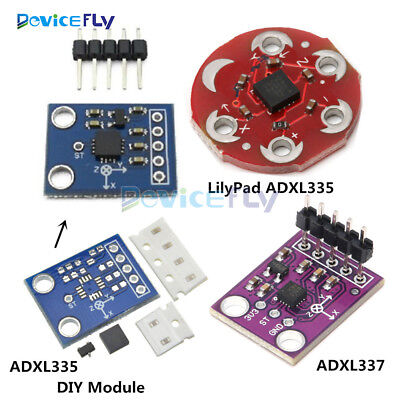 ADXL335/337 GY61 3-axis Analog Output Accelerometer Transducer LilyPad  Module