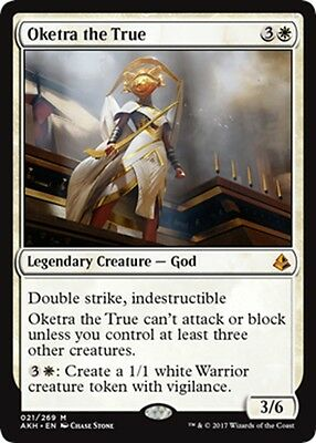 MTG Magic - (M) Amonkhet - Oketra the True - NM/M