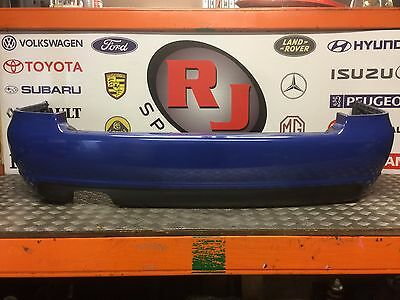 Genuine Audi S4 B5 Avant Facelift Complete Rear Bumper In Blue