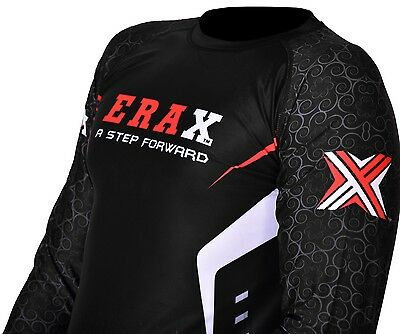 Running Exercise Sweat Shirt Rash Guard Sauna Suit Weight Loss MMA Men AU POST