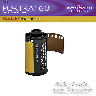 Kodak Portra 160 ~ Single Roll 35mm 36exp ~ Fresh Stock from the EU Distributer!