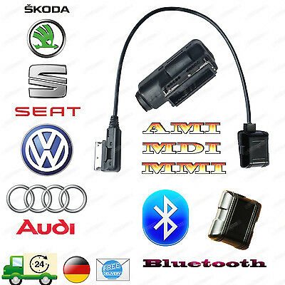 For Audi VW AMI/MMI/MDI Bluetooth Cable ADAPTOR PHONE CONNECT