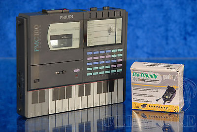 ►Philips Pmc 100 Composer◄Piastra Cassette Portable Synthesizer Vintage 1986