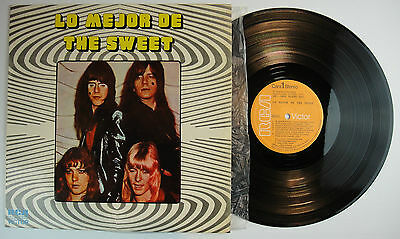 THE SWEET Lo mejor de The Sweet RCA Victor LSP 10495 ultrarare SPAIN Best 1973