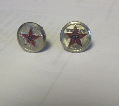 Pair of Vintage Texaco Hat Pins