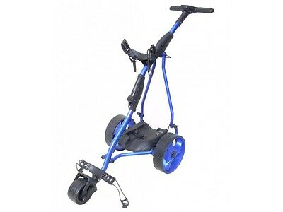 Hillman Ranger Electric Golf Trolley with 33ah Battery Blue With USB Port