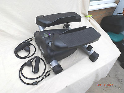 V-Fit Mini Twist Stepper,resistance Bands,step Counter,hydraulic Resistance,