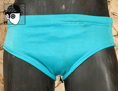 "VINTAGE 60s 'BILLY TIS' SWIMMING TRUNKS - W 28"" to 30"" - EXTRA SMALL - (Q)"