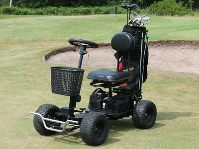 Hillman Pro Hawk Golf Buggy Ride On Electric Golf Buggy with 90ah Batteries