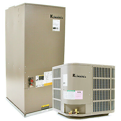 3 Ton KLIMAIRE 16 SEER Central Ducted Air Conditioner System Cooling Only
