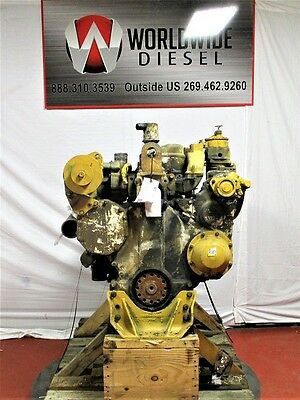 CAT 3406B Diesel Engine Take Out