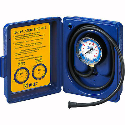 """Yellow Jacket Gas Pressure Complete Test Kit  0-10"""" W.C.  - 78055"""