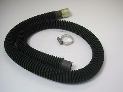 """12400 Herbert Cooper Air Breathing Hose 48"""" W/ Dixon Quick Disconnect And Clamp"""
