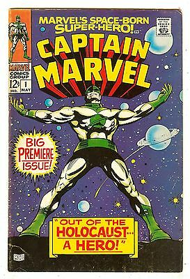 Captain Marvel 1   Premiere Issue