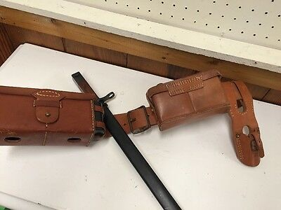 WWII Japanese Ammunition Belt Set With Bayonet And Ammo Boxes-reproduction