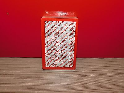 "Coca Cola Playing Cards! ""COCA COLA ADDS LIFE TO EVERYTHING NICE""   NEW!"