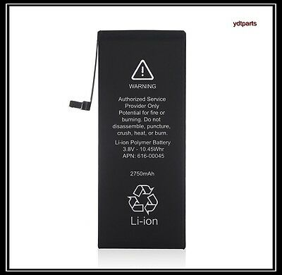 New 2750mAh Li-ion Battery Replacement With Flex Cable For iPhone 6s Plus 6s+