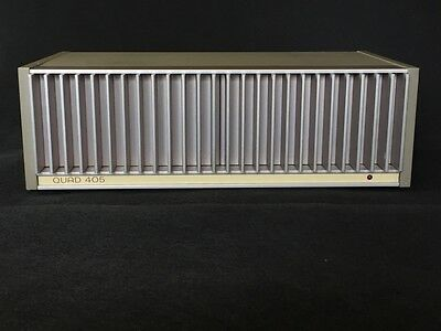 Quad 405 amplifier upgraded by expert Planabox
