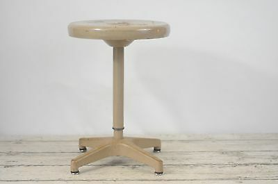 Vintage Industrial Stool Adjusto Equitment Co. Lab Stool Metal Stool Adjustable