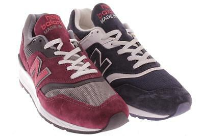 Mens New Balance Cross Color Red Blue Athletic Shoes 9.5 M