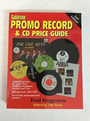 Goldmine Promo Record & Price Guide by Fred Heggeness (PB)- VG