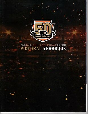 2016 2017 Philadelphia Flyers 50Th Anniversary Yearbook Program Stanley Cup