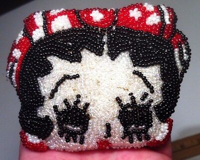 Betty Boop Beaded Coin Purse